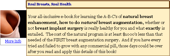Real Breasts, Real Health